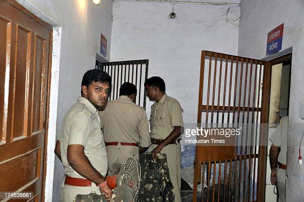 The 28yearold accused Lakhan Saxena died under mysterious circumstances inside the lock up of Vijay Nagar police station after he surrendered in...