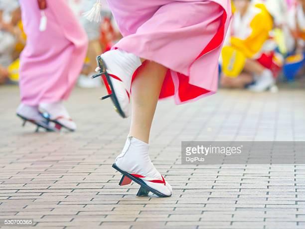 the 29th kawasaki awa odori - awa dance festival stock photos and pictures