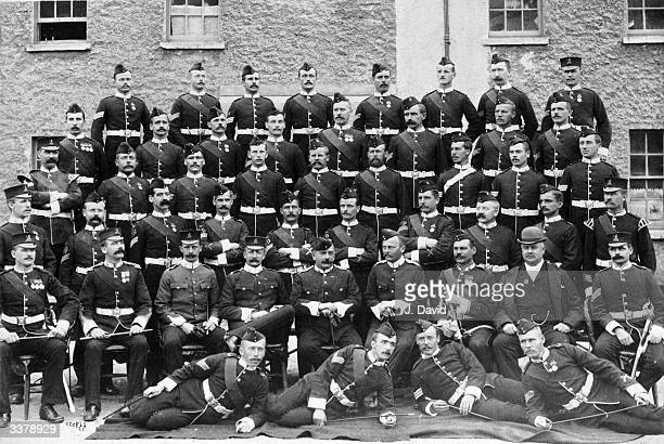 The 2nd Battalion Norfolk Regiment stationed at Fermoy County Cork
