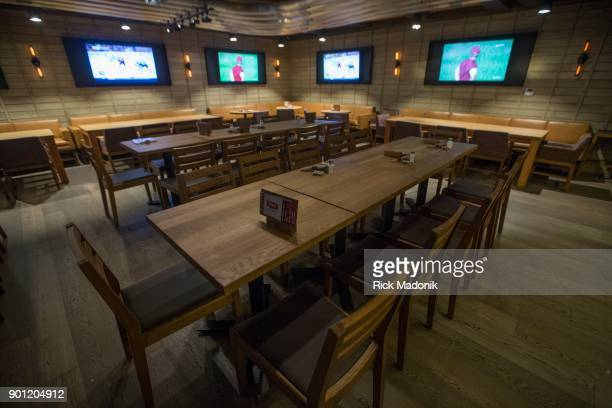 The 2nd floor has more tables and tvs The Craft Beer Market recently opened at 1 Adelaide Street East features 165 taps of beer wine and spirits over...