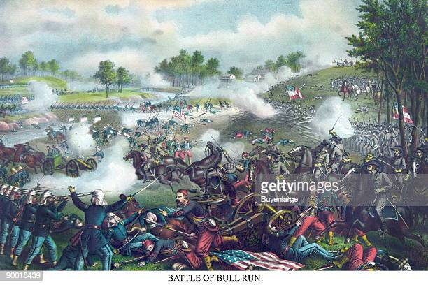 The 2nd time the Federals were routed by Confederate forces at Bull Run Virginia just south of Washington DC the 1st was at the outset of the War...
