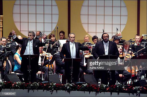 The 3 Tenors Last Concert In Yokohama Japan On June 27 2002 Luciano Pavarott Jose Carreras and Placido Domingo