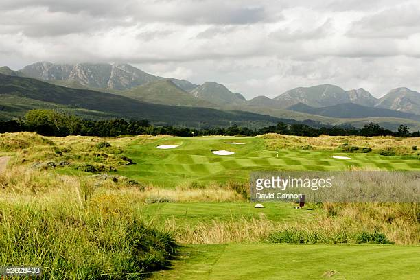 The 360 metre par 4, 10th hole on the Links Course at Fancourt, on February 24 in George, South Africa.
