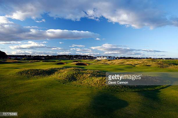 The 375 yds par 4 3rd hole 'Jockie's Burn' on the Carnoustie Championship Course venue for the 2007 Open Championship on September 7th in Carnoustie...