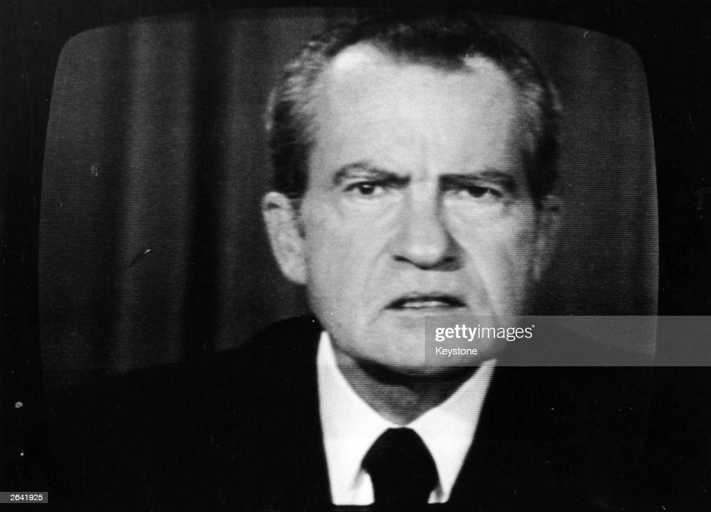 Richard Nixon : ニュース写真