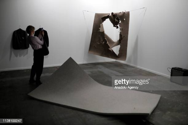 The 38th International Contemporary Art Fair held in Madrid Spain on February 28 2019
