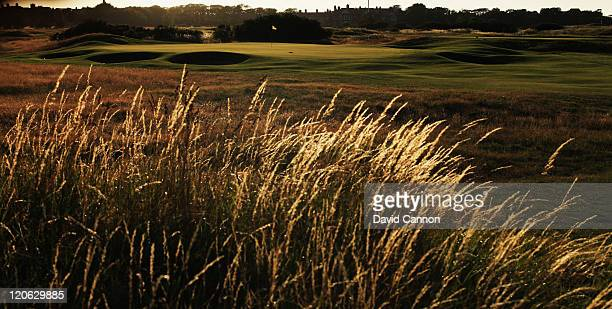 The 391 yards, par 4, 4th hole at Royal Lytham and St Annes Golf Club the venue for the 2012 Open Championship on July 25, 2011 in Lytham St Annes,...