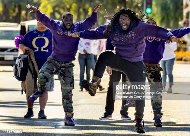 The 39th Orange County Black History Parade finally comes to Anaheim on Saturday February 23 2019 after being postponed due to rain Omega Psi Phi...