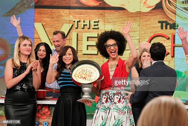 THE VIEW The 3rd Annual View/Chew CookOff airs April 2 2015 on Walt Disney Television via Getty Images's The View The View airs MondayFriday on the...