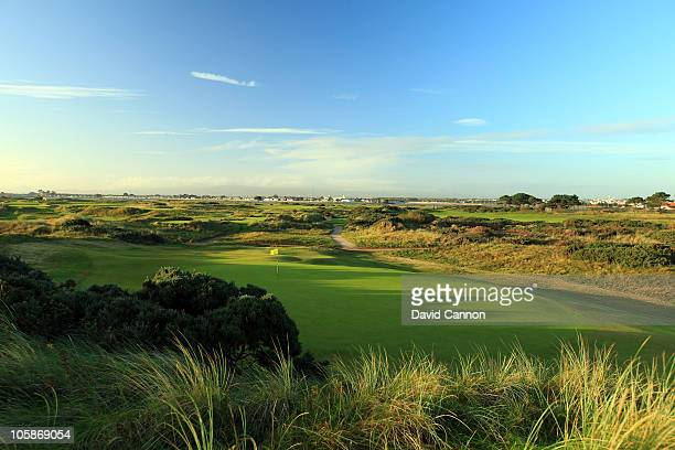 The 3rd hole on the 'Yellow' third nine at Portmarnock Golf Club on October 19 2010 in Portmarnock Co Dublin Republic of Ireland