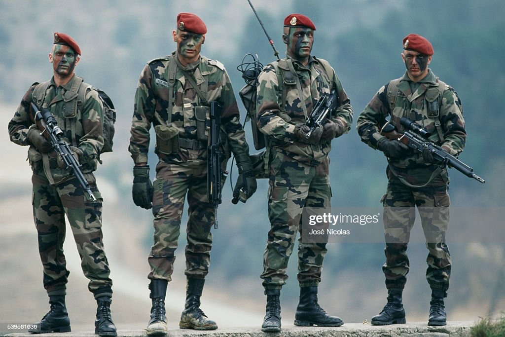The 3rd Marine Infantry Parachute Regiment is a part of the