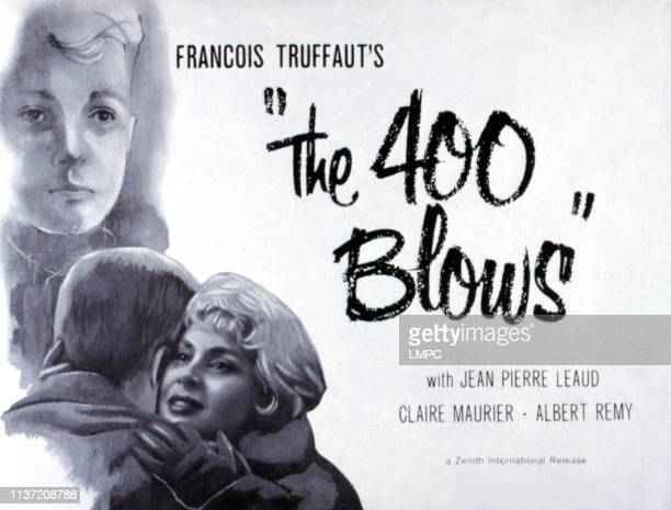 The 400 Blows poster JeanPierre Leaud Claire Maurier 1959