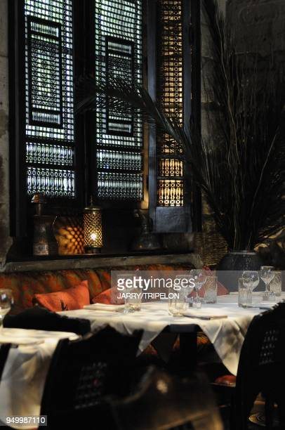 The 404 restaurant cooking speciallity of North Africa located Rue des Gravilliers in Marais area 3 rd district in Paris Ile de France region France