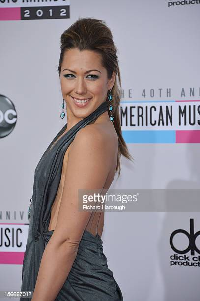 ARRIVALS The 40th Anniversary American Music Awards broadcast live from the NOKIA Theatre LA LIVE on SUNDAY NOVEMBER 18 on Walt Disney Television via...