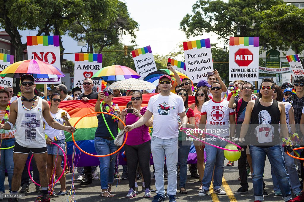 Gay Pride Parade in Costa Rica : News Photo