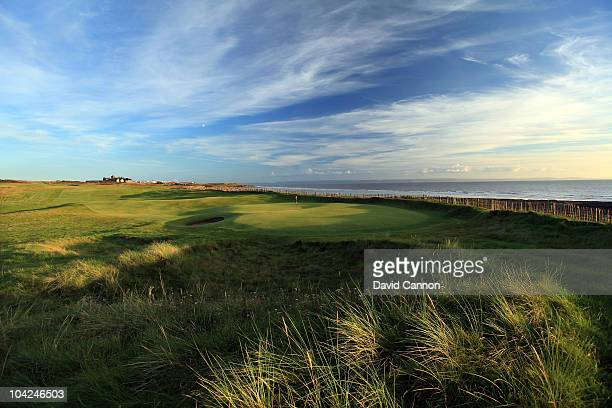 The 451 yards, par 4, 2nd hole at The Royal Porthcawl Golf Club on September 17, 2010 in Porthcawl, Mid Glamorgan, Wales.