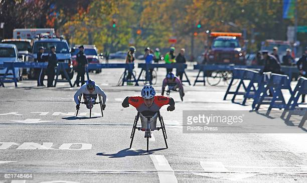 The 46th annual TCS New York City marathon brought more than fifty thousand contestants onto the streets of all five NYC boroughs A 20 year old...