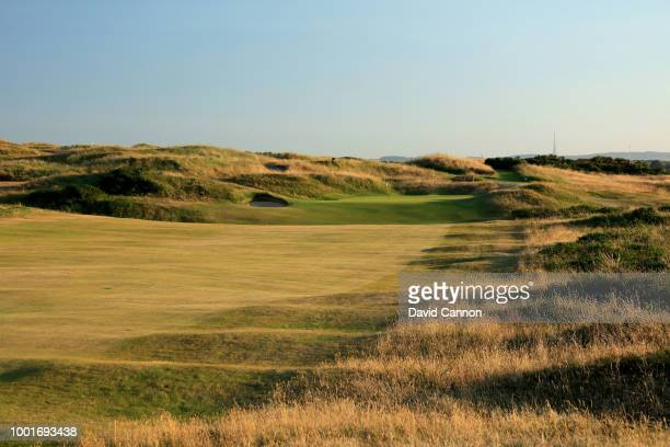 The 475 yards par 4 11th hole 'PGStevenson's' on the Dunluce Links at Royal Portrush Golf Club the venue for The Open Championship 2019 on July 2...