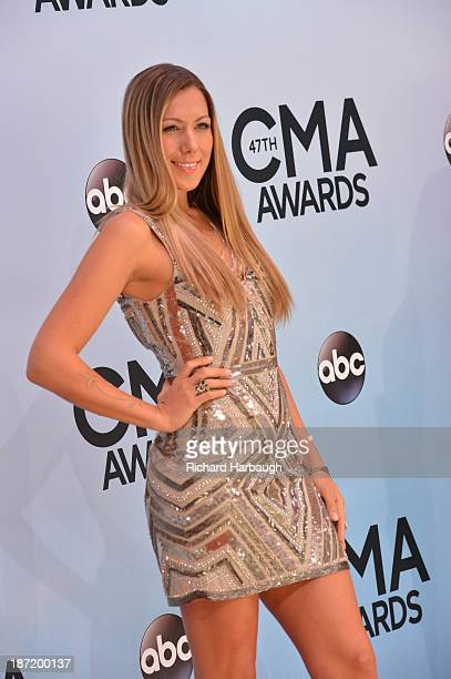 ARRIVALS The 47th Annual CMA Awards airs live from the Bridgestone Arena in Nashville on WEDNESDAY NOVEMBER 6 on the Walt Disney Television via Getty...