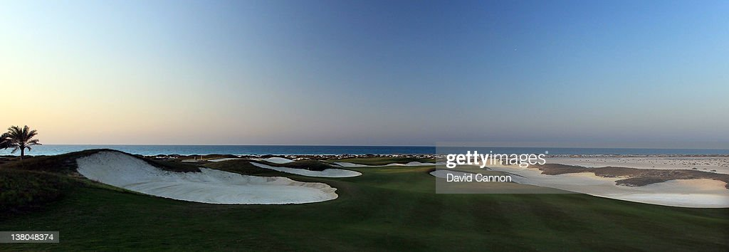 Saadiyat Beach Golf Club : News Photo
