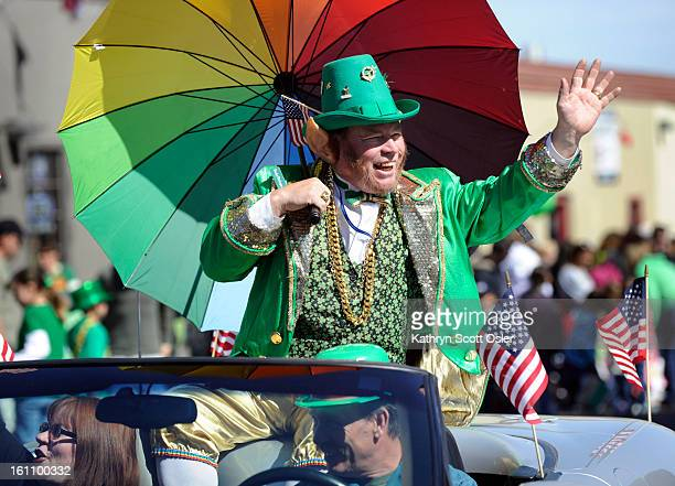 The 48th annual Denver St Patrick's Day Parade takes place along Blake Street in downtown Denver and continues around Coors Field Rocky the...