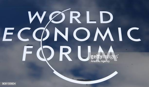 The 48th World Economic Forum annual meeting held in Davos Switzerland on January 23 2018