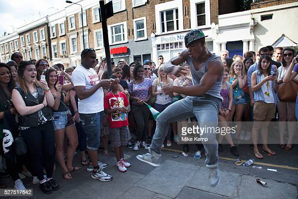 The 49th Notting Hill Carnival in West London A celebration of West Indian / Caribbean culture and Europe's largest street party festival and parade...