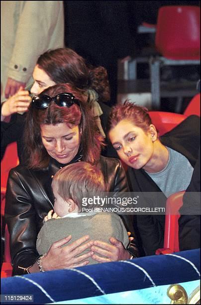 The 4th day of Monaco Circus Festival in Monaco City Monaco on January 21 2001 Caroline Charlotte and Alexandra