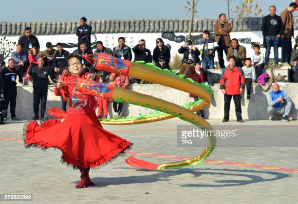 The 4th whip spinning top festival hold on 25th November 2017 in Xiayi Henan China