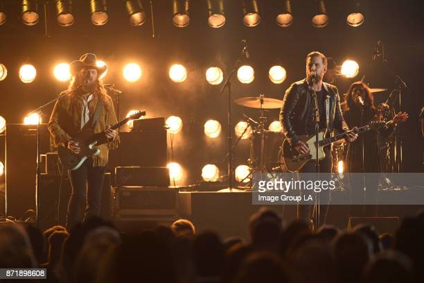 AWARDS The 51st Annual CMA Awards hosted for the 10th year by Brad Paisley and Carrie Underwood airs live from Bridgestone Arena in Nashville...