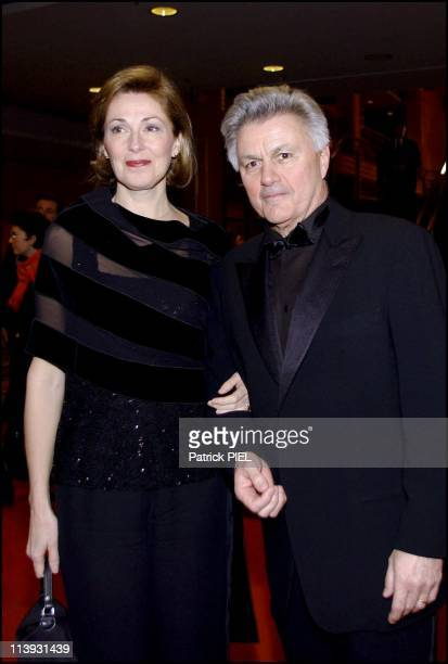 The 52nd Berlin Film Festival Award Ceremony In Berlin Germany On February 17 2002John Irving And Wife