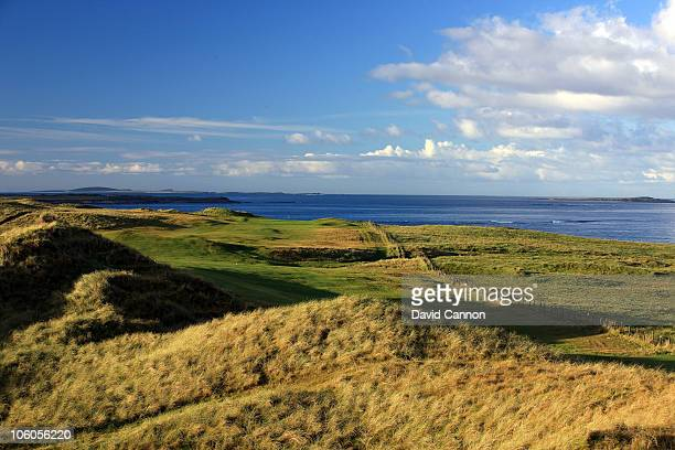 OCTOBER 24 OCTOBER 24 The 530 yards par 5 13th hole at Carne Golf Links on October 24 2010 in Belmullet CoMayo Republic of Ireland