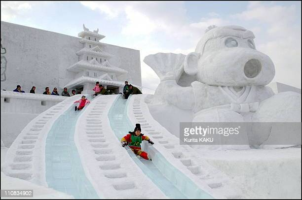 The 53Rd Annual Snow Festival In Sapporo Japan On February 05 2002