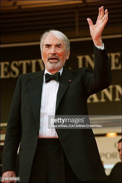 The 53th Cannes Film Festival in Cannes France in May 2000 Gregory Peck