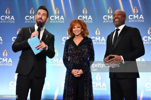 The 54th Annual CMA Awards, hosted by Reba McEntire and Darius Rucker aired from Nashvilles Music City Center, WEDNESDAY, NOV. 11 , on ABC. JAKE...