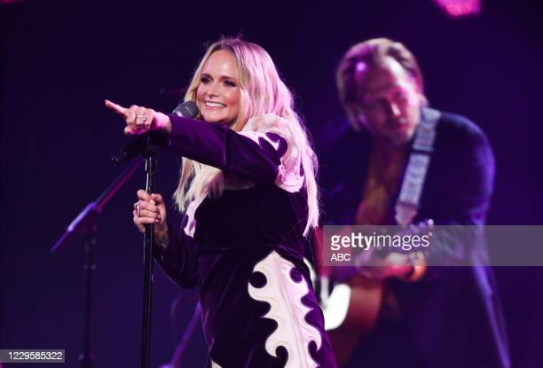The 54th Annual CMA Awards, hosted by Reba McEntire and Darius Rucker aired from Nashvilles Music City Center, WEDNESDAY, NOV. 11 , on ABC. MIRANDA...