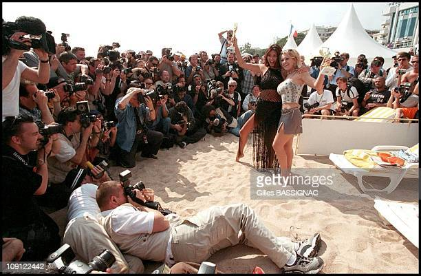 The 54Th Cannes Film Festival On January 5Th 2001 In Cannes France Winners Of The Hot D'Or Porn Awards On The Beach