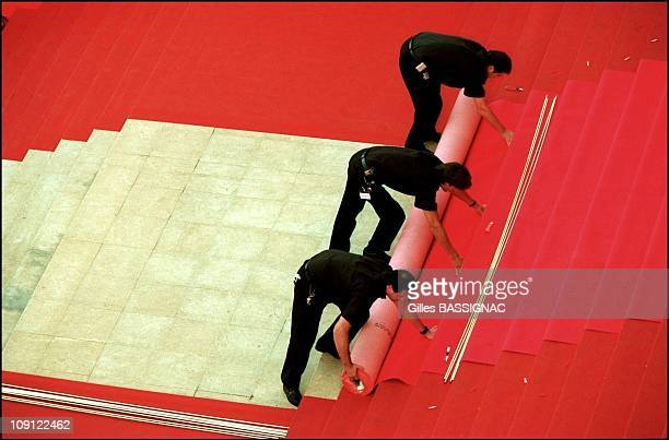 The 54Th Cannes Film Festival On January 5Th 2001 In Cannes France Even Red Carpets Have To Be Changed Eventually