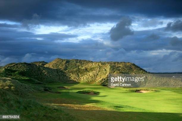 The 561 yards par 4 first hole at the Trump International Golf Links Doonbeg on June 5 2017 in Doonbeg County Clare Ireland