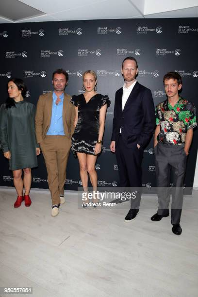 The 57th Critic's Week jury members Eva Sangio Augustin Trapenard Chloe Sevigny The 57th Critic's Week jury head Joachim Trier and jury member Nahuel...