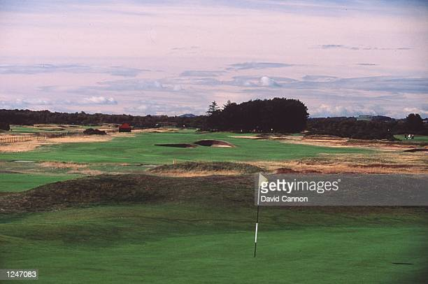 The 5th Green and 6th Hole at Carnoustie Golf Club Championship Course Scotland Credit David Cannon/Allsport Mandatory Credit David Cannon/ALLSPORT