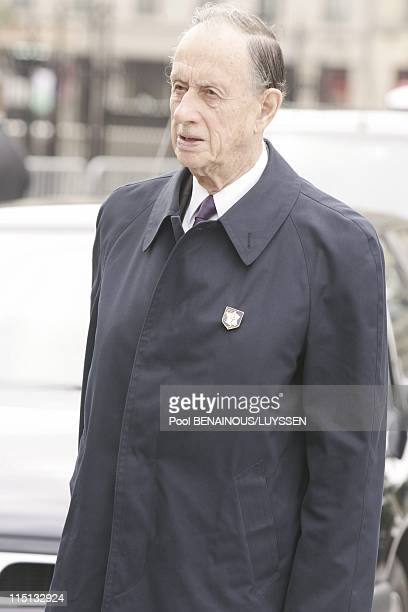 The 60th anniversary of the Liberation of Paris religious ceremony at Notre Dame in Paris France on August 26 2004 Philippe de Gaulle
