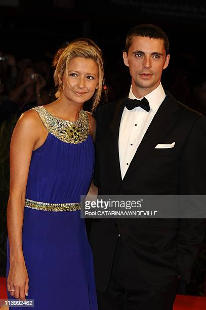 The 66th Venice Film Festival Premiere of the film 'A Single Man' in Venice Italy On September 11 2009British actor Matthew Goode and girlfriend...