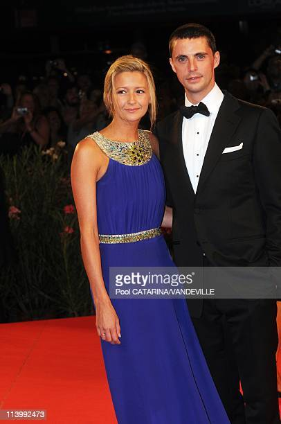 The 66th Venice Film Festival: Premiere of the film 'A Single Man' in Venice, Italy On September 11, 2009-British actor Matthew Goode and girlfriend...