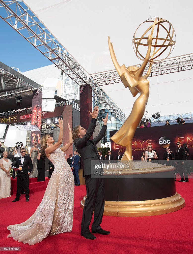 EMMY(r) AWARDS - The 68th Emmy Awards broadcasts live from The Microsoft Theater in Los Angeles, Sunday, September 18 (7:00-11:00 p.m. EDT/4:00-8:00 p.m. PDT), on ABC and is hosted by Jimmy Kimmel. FELICITY