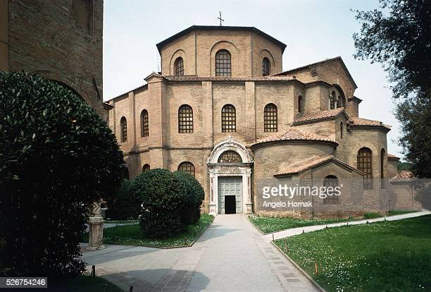The 6th century Byzantine basilica of San Vitale