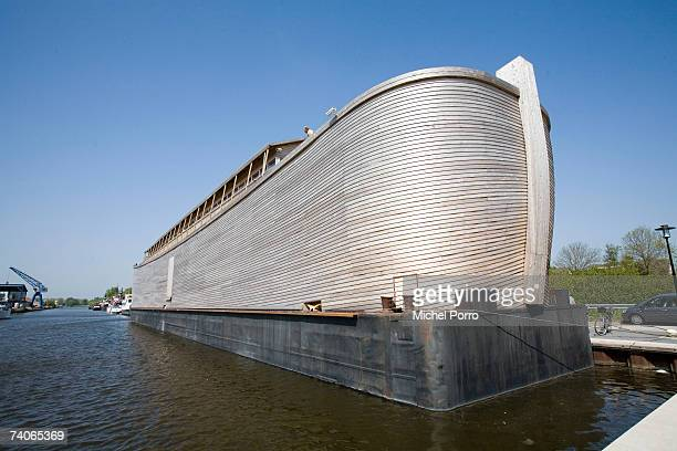 The 70 metres long replica of the biblical Noah's Arc has opened its doors to the public on May 3 2007 in Schagen Netherlands The almost EUR 1...
