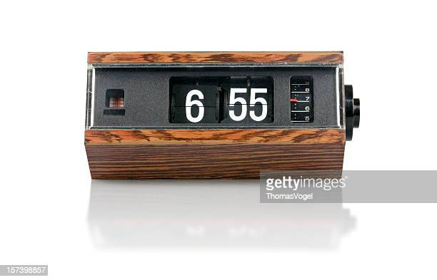 The 70s. digital flip clock