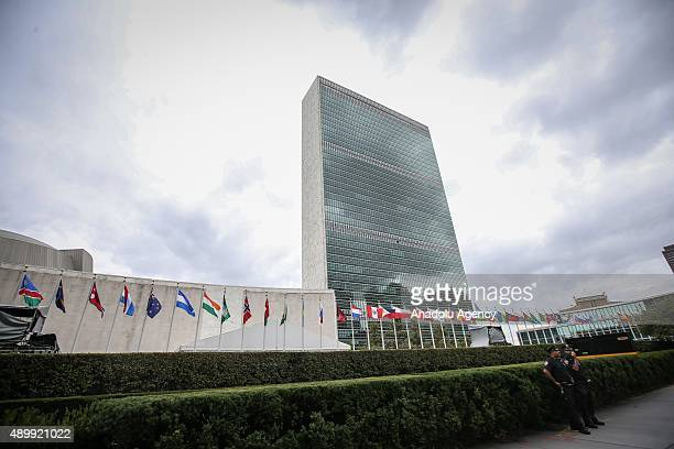 The 70th Regular Session of the UN General Assembly is to be held to discuss the full spectrum of international issues such as climate agreement...
