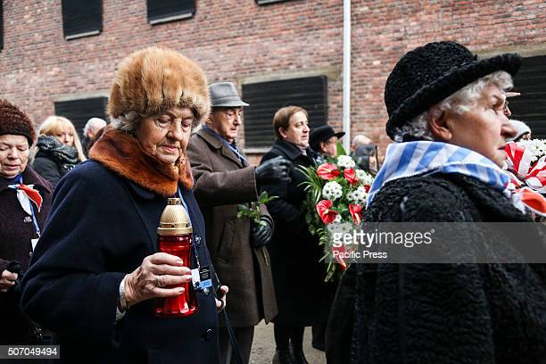 The 71st anniversary event commemorating the liberation of the German Nazi concentration and extermination camp Auschwitz